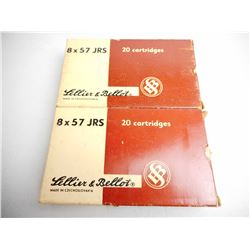 SELLIER & BELLOT 8 X 57 JRS 196 GR AMMUNITION