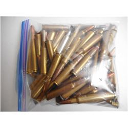 ASSORTED LOT OF RIFLE AMMUNITION INCLUDING 280, 270 WIN, 243, 8MM, 30-06, 270 WSM 338 ETC