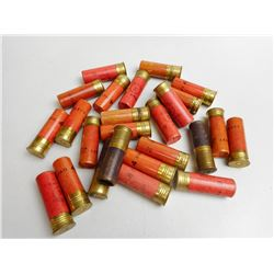 12 GA X 2 3/4 PAPER SHOTGUN SHELLS VARIOUS SHOT SIZES