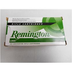 REMINGTON 30 CARBINE 110 GR AMMUNITION UNOPENED
