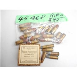 ASSORTED HANDGUN AMMO