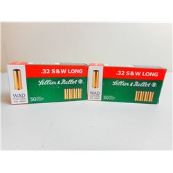 SELLIER & BELLOT 32 S&W LONG AMMO