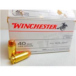 WINCHESTER 40 S&W AMMO