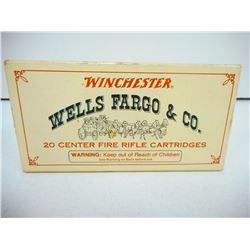 WINCHESTER WELLS FARGO  30-30 150 GR SILVERTIP AMMUNITION