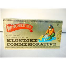 WINCHESTER KLONDIKE COMMEMORATIVE 30-30 METALIC 170 GR SILVERTIP AMMUNITION IN SEALED BOX