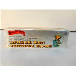 WINCHESTER LITTLE BIG HORN CENTENNIAL 1876-1976 44-40 AMMUNTION