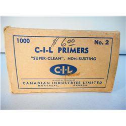 CIL PRIMERS NO. 2 10 BOXES