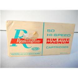 REMINGTON HI-SPEED 5MM RIM FIRE AMMUNITION