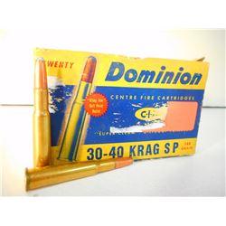 DOMINION 30-40 KRAG AMMO