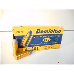 DOMINION 45 COLT AMMO