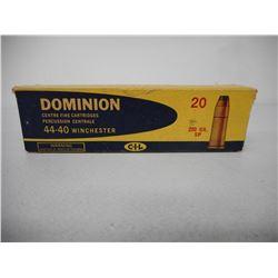 DOMINION 44-40 WINCHESTER AMMO