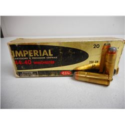 IMPERIAL 44-40 WIN AMMO