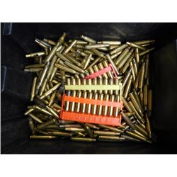 ASSORTED LOT OF .270 WIN BRASS