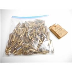 ASSORTED LOT OF RIFLE BRASS