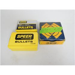 ASSORTED LOT OF 9MM 100-125 GRAIN BULLETS INCLUDING SPEER