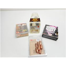 ASSORTED LOT OF MUZZLELOADING ITEMS