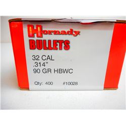HORNADY 32 CAL BULLETS