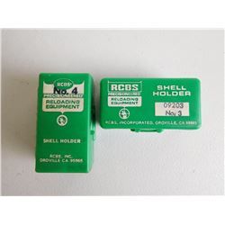 RCBS SHELL HOLDERS #' 3 AND 4