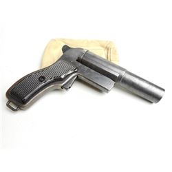 POLISH FLARE GUN 26.5 MM WITH CRACKEL GRIP HT05404