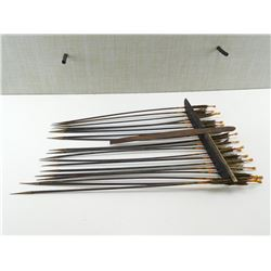 ANTIQUE ARROWS WITH QUIVER