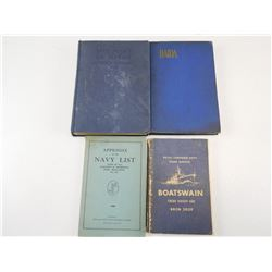 NAVY BOOKS & MATERIAL