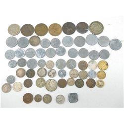 ASSORTED INTERNATIONAL COINS