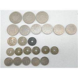 ASSORTED BELGIAN COINS