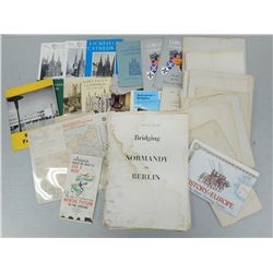 ASSORTED BOOKLETS & MAPS