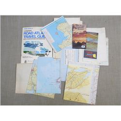 ASSORTED MAPS AND GUIDES OF CANADA