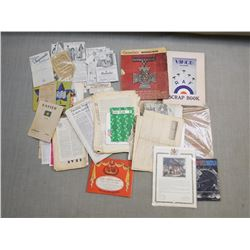 ASSORTED NEWSPAPER CLIPPINGS