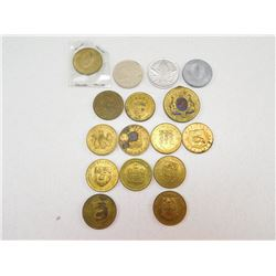 ASSORTED CANADA COINS