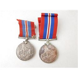 WAR MEDAL WITH RIBBON