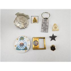 ASSORTED MILITARY/POLICE ITEMS