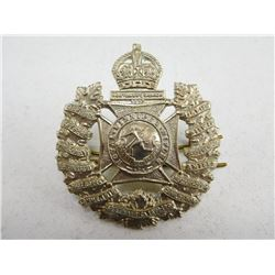 ROYAL WINNIPEG RIFLES HAT BADGE