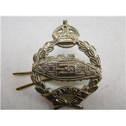 CANADIAN ARMOURED CORPS CAP BADGE