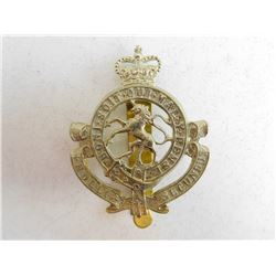 THE GOVERNOR GENERAL'S HORSE GUARDS CAP BADGE
