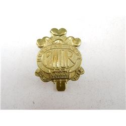 PRINCE OF WALES OWN REGIMENT CAP BADGE