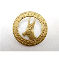 SOUTH AFRICAN ARMY CAP BADGE
