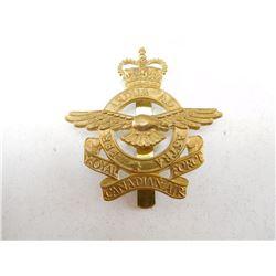 ROYAL CANADIAN AIR FORCE CAP BADGE