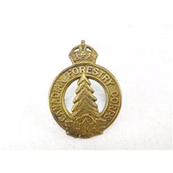 CANADIAN FORESTY CORPS CAP BADGE