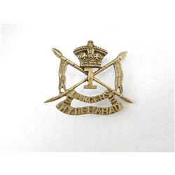 ROYAL INDIAN ARMY CAP BADGE