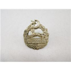 EASTERN BANGAL RAILWAY CAP BADGE