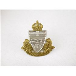 SOUTH ALBERTA REGIMENT CAP BADGE