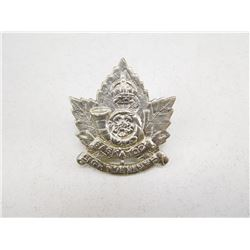 SASKATOON LIGHT INFANTRY CAP BADGE