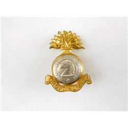 SHERBROOKE FUSILIER REGIMENT CAP BADGE