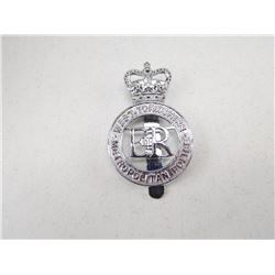 WEST YORKSHIRE METROPOLITAN POLIC CAP BADGE