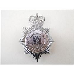 DERBY COUNTRY & BOROUGH CONSTABULARY HAT BADGE