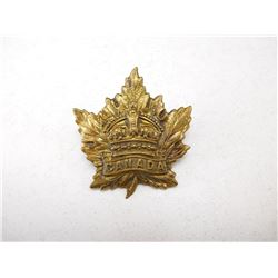 CANADA CROWN CAP BADGE