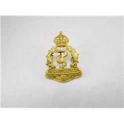 ROYAL CANADIAN MEDICAL CORPS CAP BADGE