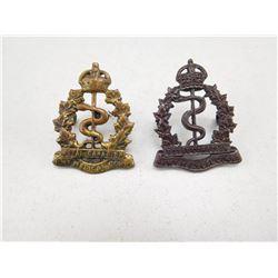 ROYAL CANADIAN ARMY MEDICAL CORPS CAP BADGE
